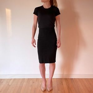 Wilfred Black Pencil Skirt Size S